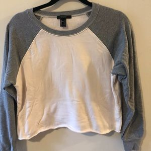 Forever 21 Cropped Sweatshirt